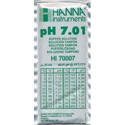 Liquido calibrador HANNA pH 7.01 20 ml.