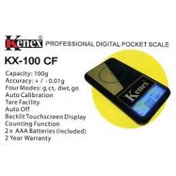 KENEX KX-100CF Professional digital pocket scale 0,01/100g
