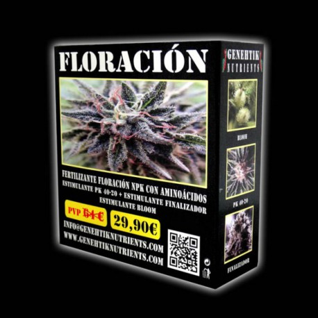 Pack Floracion Genehtik Nutrients