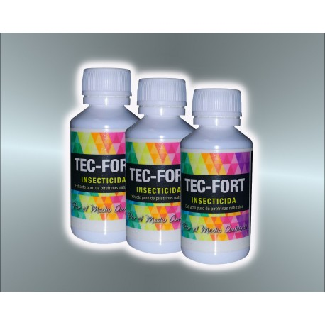Tec-Fort, insecticida piretrinas 30 ml.