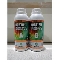 HortiFit Nutrient A + B Todos los sustratos  1Litro-A, 1 Litro-B