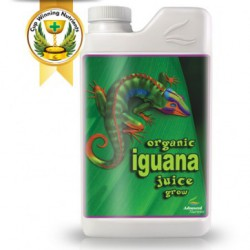 Organic Iguana Juice Grow 1 litro