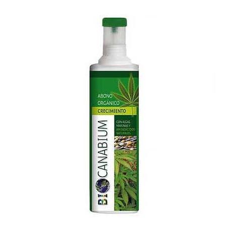 BIO CANABIUM, Abono orgánico con algas marinas / ESPECIAL CRECIM