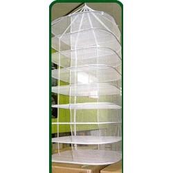 Secadero grande (Redondo, 9 pisos, 90 cm, medio cerrado)